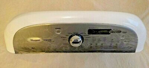 Whirlpool Washer Control Panel W10404673