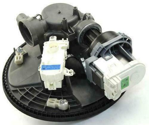 Whirlpool WPW10605057 Dishwasher Pump and Motor
