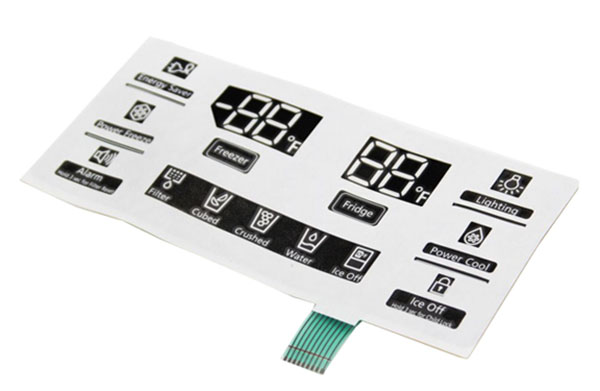 Samsung DA64-03364A Refrigerator Display Inlay