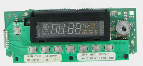 WB19X255 GE Range Oven Main Control Board