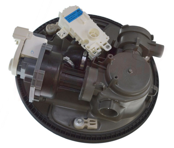 Whirlpool W11087376 Kenmore Dishwasher Pump and Motor
