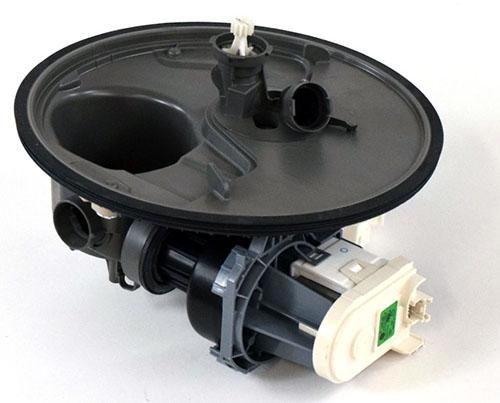 Whirlpool WPW10671942 Dishwasher Pump and Motor