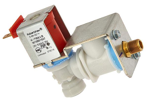Whirlpool W10833899 Refrigerator Water Valve