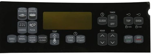 8272646 Whirlpool Kenmore Oven Control Panel