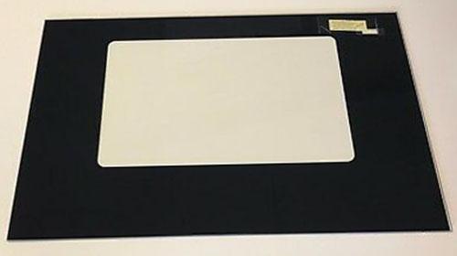 W10118455 Whirlpool Oven Outer Glass Door Black