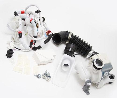 Samsung DC98-01877B Washer Drain Pump Kit for WA422PRHDWR/AA-00 WA400PJHDWR/AA-01 WA422PRHDWR/AA-01