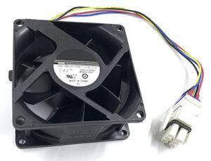 GE Refrigerator Evaporator Fan Motor WR60X26866 for GNE29GGHDBB DFE28JGHDBB GFE28HMKIES ZWE23ESHNSS GFS28DMJBES