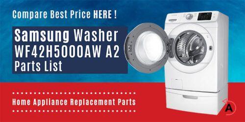 Samsung Washer WF42H5000AW A2 Parts List