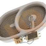 W10823730 Whirlpool KitchenAid Range Dual Surface Element for KECC567GBT1 KECC507HSS2 YKERA807PB02 KERS807SBB01 KECC562GWH05