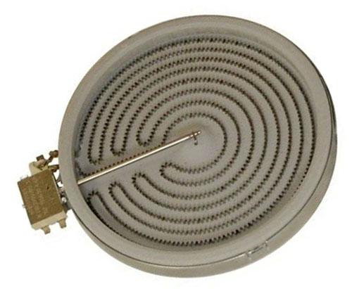 WPW10187838 Whirlpool Maytag Oven Radiant Surface Element for MER6765BAS18 MER6757BAB15 MER6741BAB17 MER6765BAB17 GGE350LWB00